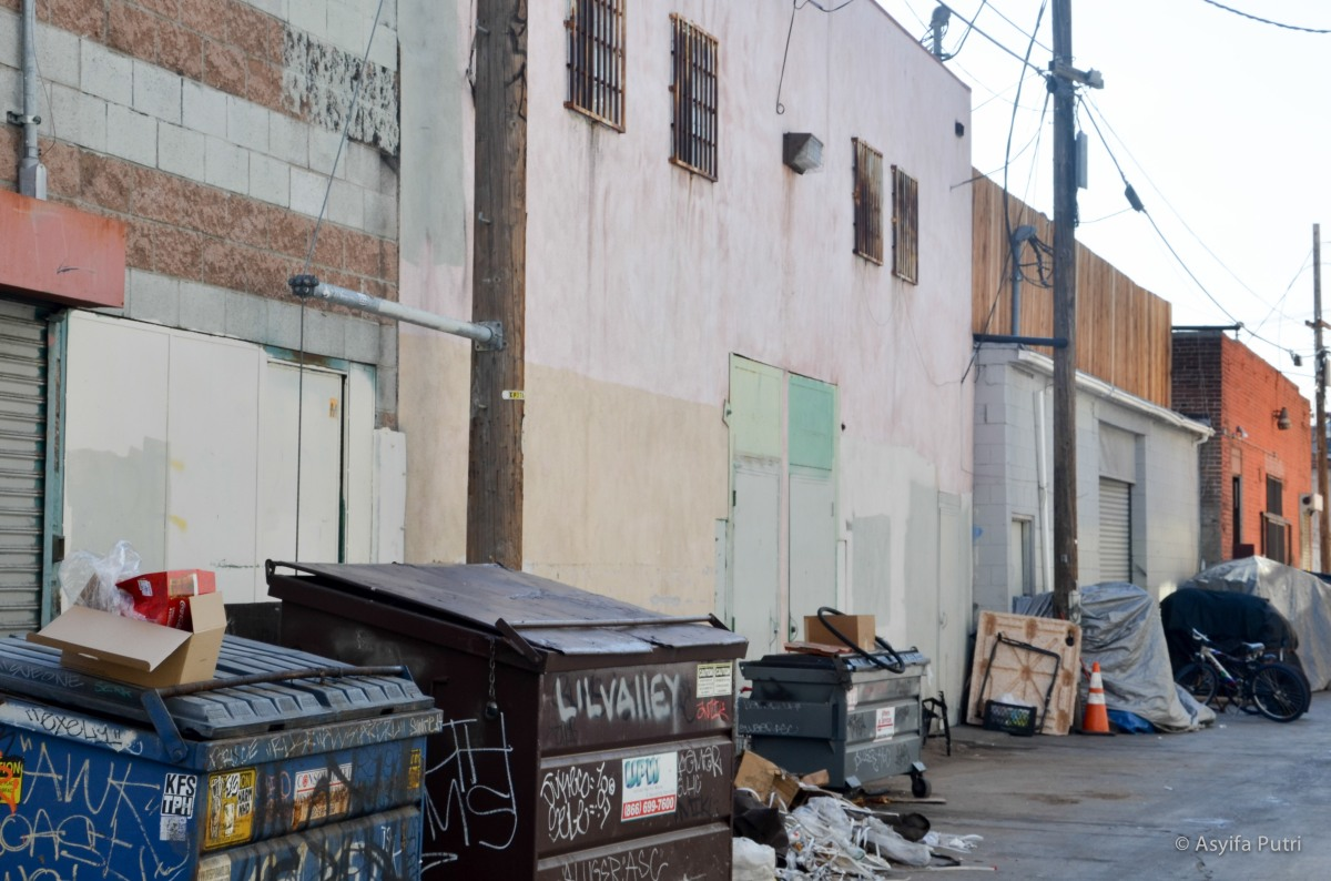 LA dumpster