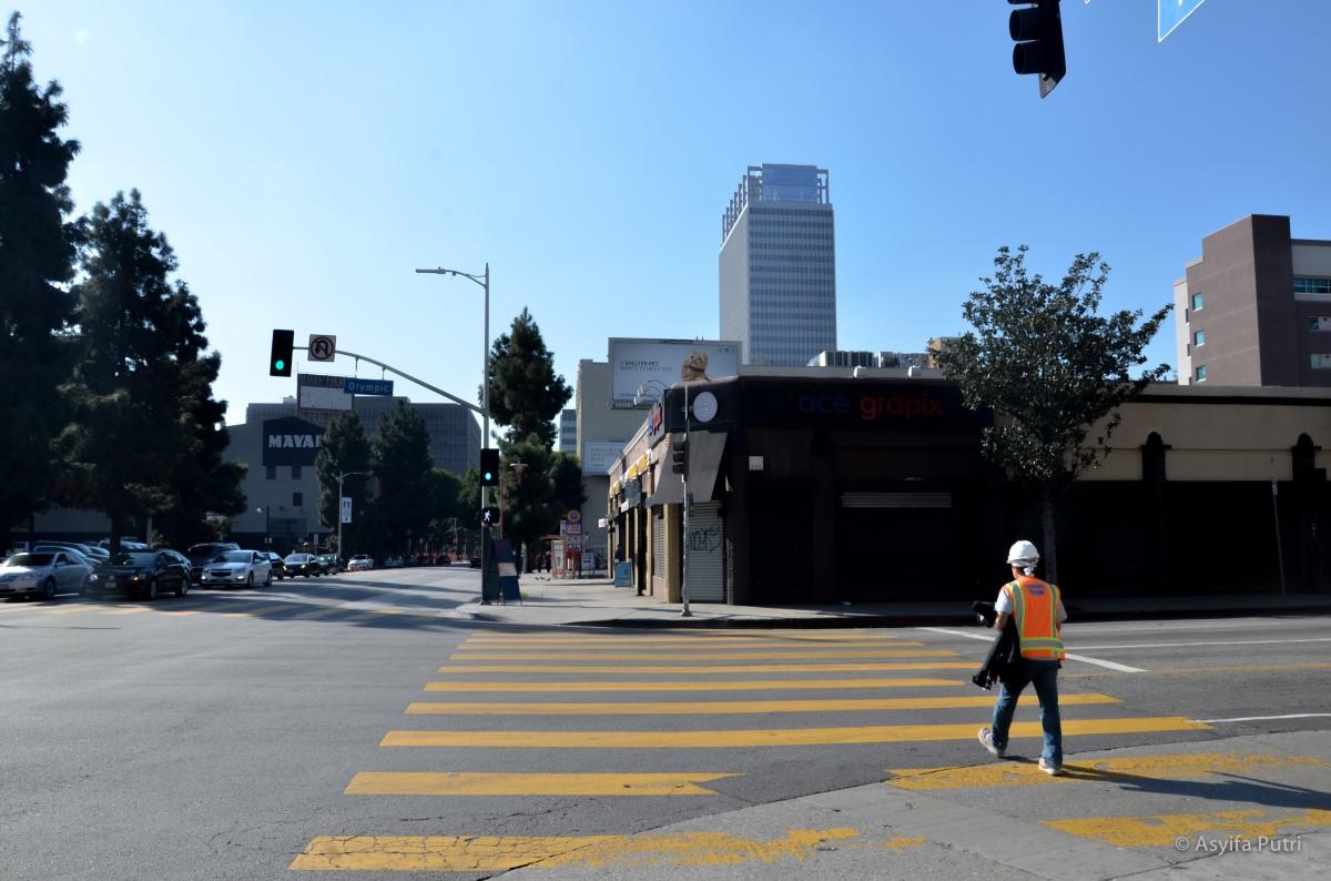 Olympic street, LA